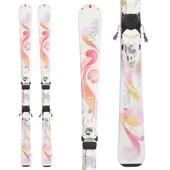 Volkl Viola Skis + Essenza 4Motion 10 Bindings - Used - Women's 2013