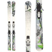 Volkl Aura Skis + Marker Squire Demo Bindings - Used - Women's 2012