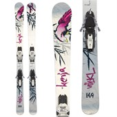Volkl Kenja Skis + Marker Squire Demo Bindings - Used - Women's 2012