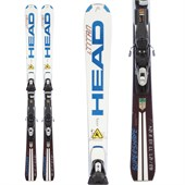 Head i.Supershape Titan Skis + Tyrolia Sympro 120 Demo Bindings - Used 2012