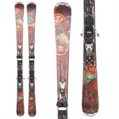 Nordica Cinnamon Girl Skis + EXP 2S Bindings - Used - Women's 2012