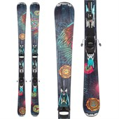 Nordica Unknown Legend Skis + EXP 2S Bindings - Used - Women's 2012