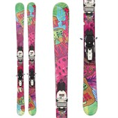 Nordica Double Six Skis + Marker Squire Demo Bindings - Used 2012