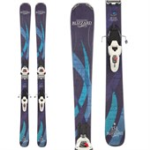 Blizzard Viva 8.0 Skis + Marker Griffon Demo Bindings - Used - Women's 2013
