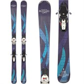 Blizzard Viva 8.0 Skis + Marker Squire Demo Bindings - Used - Women's 2013