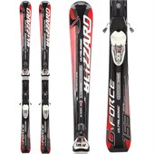 Blizzard G Force Ultrasonic Sport Full Suspension IQ Skis + Power 11 Bindings - Used 2012