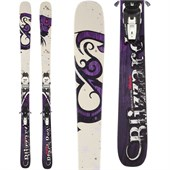 Blizzard Black Pearl Skis + Marker Squire Demo Bindings - Used - Women's 2012