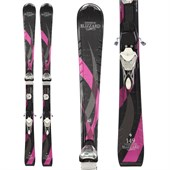 Blizzard Viva 7.6 IQ Skis + Viva TC 11 Bindings - Used - Women's 2013