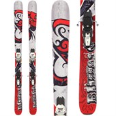 Blizzard Bonafide Skis + Marker Squire Demo Bindings - Used 2012