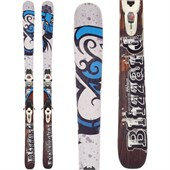 Blizzard Bushwacker Skis + Marker Griffon Demo Bindings - Used 2012