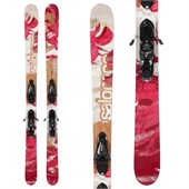 Salomon Geisha Skis + Z12 Demo Bindings - Used - Women's 2012