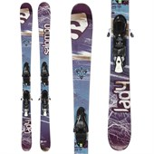 Salomon Lady Skis + Z10 Demo Bindings - Used - Women's 2012