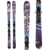 Salomon Lady Skis + Z12 Demo Bindings - Used - Women's 2012
