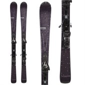 Salomon Origins Intense Black Skis + Z10 Demo Bindings - Used - Women's 2012