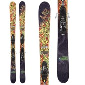 Lib Tech Freeride NAS Skis + Salomon Z12 Demo Bindings - Used 2013