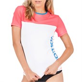 Volcom Colorblock Short-Sleeve Rashguard - Women's 2014