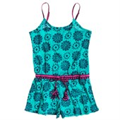 Roxy Batik Paradise Romper (Ages 8-14) - Big Girls'