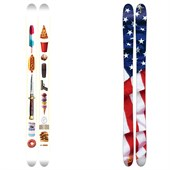 "J Skis The Allplay ""Freedom Rock"" Limited Edition Skis 2015"