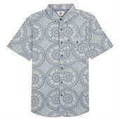 Vissla Skeleton Coast Short-Sleeve Button-Down Shirt