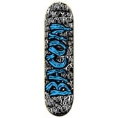 Bacon Blue Font 8.5 Skateboard Deck