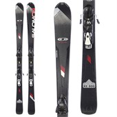 Salomon Enduro RX 800 Skis + Z12 Demo Bindings - Used 2012