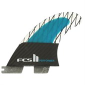 FCS II Performer PC Carbon Medium Tri Fin Set