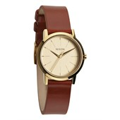 Nixon The Kenzi Leather Watch - Women's