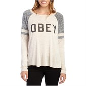 Obey Clothing Collegiate Obey 2 Raglan Top - Women's