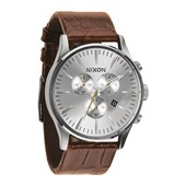 Nixon The Sentry Chrono Leather Watch