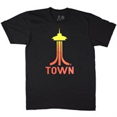 Casual Industrees Space Town Fade T-Shirt