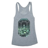 Casual Industrees Emerald City Photo Tank Top - Women's