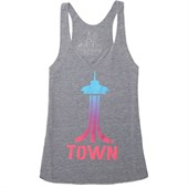 Casual Industrees Space Town Fade Tank Top - Women's