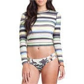 Billabong Ride It Long-Sleeve Cropped Rashguard - Women's 2015