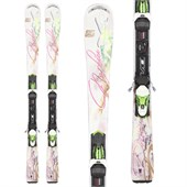 Nordica Drive 78 Ca EVO Skis + N ADV P.R. EVO Bindings - Women's 2014