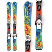Nordica Fire Arrow Team Skis + Fastrack 4.5 Bindings - Little Kids' 2013