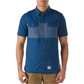 Vans Woodley Short-Sleeve Button-Down Cali Collection Shirt