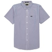 Matix King Gingham Short-Sleeve Button-Down Shirt