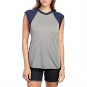 Obey Clothing Cut Off Vintage Raglan Tank Top - Women's