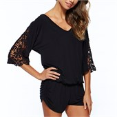 L Space Mali Romper Cover Up - Women's