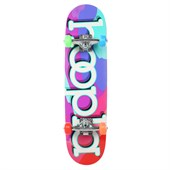 Hoopla Color Camo 7.5 Skateboard Complete - Big Kids'