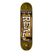 Real Donnelly Ticket to Ride 8.25 Skateboard Deck