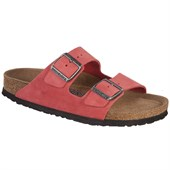 Birkenstock Arizona Nubuck Soft Footbed Sandals - Women's
