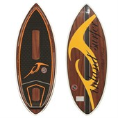 Inland Surfer 4-Skim Black Pearl Wake Surfboard 2015