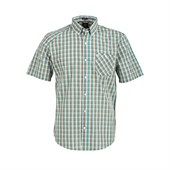 Volcom Everett Minicheck Short-Sleeve Button-Down Shirt