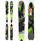 K2 SideStash Skis + FFG 12 Demo Bindings - Used 2012