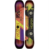 K2 World Wide Weapon Enjoyer Snowboard 2015