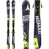 Atomic Nomad S Radon TI Skis + XTO 12 Bindings 2015