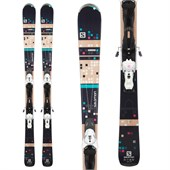 Salomon Bamboo Skis + Z10 Ti Bindings - Women's 2015