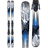 K2 AMP 76Ti Skis + M3 10 Bindings 2015