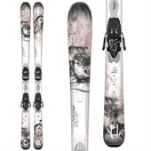 K2 Potion 76 Ti Skis + ER3 10 Bindings - Women's 2015